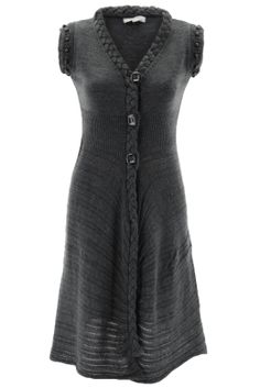 Ruby Knit Tunic - Look spectacular while remaining warm on a chilly winter's day with this stunning knit coat.This coat is simply perfect for any social event when teamed with leather shoes and handbag.
