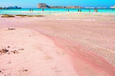 Balos Bay in Crete, Greece. I must go there!