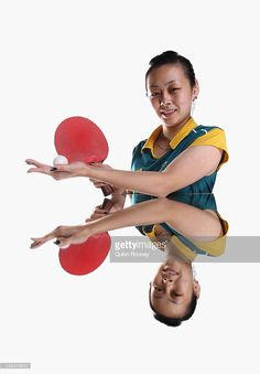 Miao Miao of Australia poses during an Australian Table Tennis portrait session at the Melbourne Sports & Aquatic Centre on May 21, 2012 in Melbourne, Australia.