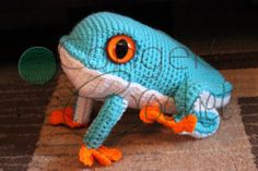 Tree Frog by CongersCrochet on Etsy
