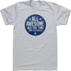 ec25b9159 Custom T-shirt Tee Design High School All Awesome All the Time Choir Shirts,