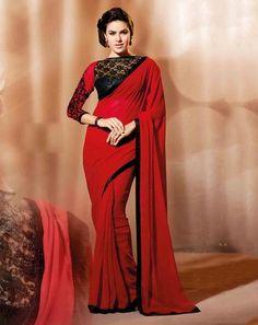 Royale Fab Saree maroonricha926