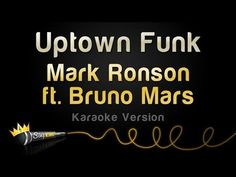 Uptown Funk - Mark Ronson ft. Bruno Mars Karaoke Track | Sing King Karaoke on YouTube