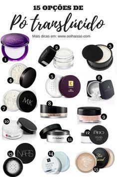 Como usar pó translúcido: o guia definitivo para você acertar na make – Suprimentos Maquiagem Diy Makeup Vanity, Makeup Tips, Beauty Makeup, Hair Makeup, Make Beauty, Beauty Care, How To Make Hair, Make Up, Beauty Secrets