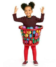 Kid in a Ball Pit Halloween Costume