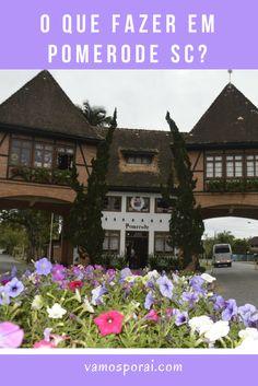 Que tal conhecer a cidade mais alemã do Brasil? Pomerode fica pertinho de Blumenau. É uma cidade encantadora. Conheça o Portal Turístico do Sul, o Museu Teichmann, o Museu Pomerano, a Osterbaum e a Cervejaria Schornstein. #pomerode #santacatarina #dicasdeviagens #ferias
