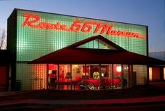 The state's official showcase of Route 66 in Clinton, Oklahoma is operated by the Oklahoma Historical Society and offers visitors a spirited tour of pure Americana.