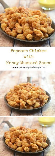 With one secret ingredient that makes them light and crisp, these popcorn chicken are absolutely delicious and addicting. Make a huge batch, they will go quick!