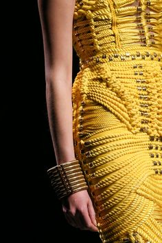 Balmain Fall 2014 RTW - Details - Fashion Week - Runway, Fashion Shows and Collections - Vogue Fashion Week, Fashion Show, Paris Fashion, Runway Fashion, From Rags To Riches, Fashion Details, Fashion Design, Fabric Manipulation, Lingerie