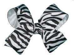 45 Girls Large Zebra Print Chunky Grosgrain Ribbon Hair Bow Clip Baby Bows >>> Read more  at the image link. (This is an Amazon affiliate link)