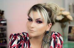 Minha gente! Hoje trago pra vocês mais uma tendência de maquiagem: a sombra vermelha!!! Vi muito essa tendência em eventos, usada por grandes artistas. E não é que eu gostei??? Embora seja uma cor muito ousada pra colocar nos olhos, achei que deu certo! Confiram tudo aqui no vídeo: