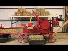Working Model Hay Press - YouTube
