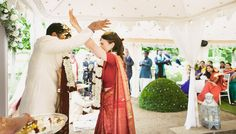 Love this. Indian-English wedding
