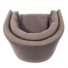 Amos Leather Swivel Chair Modern Swivel Chairs