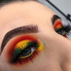 Look by: @eeerinr ____________ Using: @juviasplace - festival palette @nyxcosmetics - ultimate brights palette @certifeye - tropical Wonders palette @lashesby.lucy - opulence lashes @anastasiabeverlyhills - soft brown dipbrow _____________ My discount codes: @houseofsparklezuk - 'hbmakeupinspo' (link on bio) - Save 15% on select Cuvget skin care from this pin through 5/6 while supplies last.