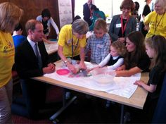 Will & Kate with children