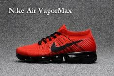 9dc15721bff38 Best Sell Nikelab Air Vapormax Flyknit 2018 Black Red Men s Athletic  Running Shoes