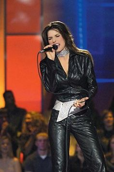 Shania Twain. I have seen her in concert a couple of times with my parents. Fun show!
