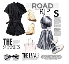 """Road Tripping Style"" by clotheshawg ❤ liked on Polyvore featuring H&M and Kate Spade"