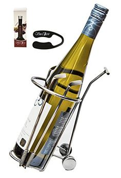 Wine Stoppers - Fabulous Golf Cart That Is Holding the Wine and the Golf Sticks  Wine Bottle Holder Plus a Foil Cutter and a Wine Vacuum Stopper -- You can get additional details at the image link.