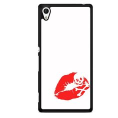 Death Kiss TATUM-3110 Sony Phonecase Cover For Xperia Z1, Xperia Z2, Xperia Z3, Xperia Z4, Xperia Z5