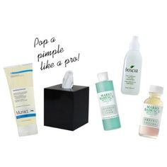 How To Pop A Pimple Like A Pro & The Best American Made Acne Products to Fix It