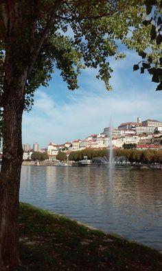 Repuxo no rio Mondego, Coimbra, by Cmarques