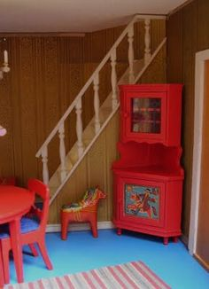 scandinavian dolls house furniture includes horse