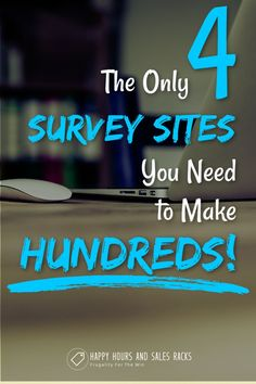 Taking online surveys is one of the quickest and easiest ways to make money online. These 4 survey sites are the best in the business, specifically the business of getting you PAID! These sites offer legit paid surveys with no spam, just easy cash! Surveys That Pay Cash, Online Surveys For Money, Earn Money Online, Make Money Blogging, Online Jobs, Make Money From Home, Money Saving Tips, Way To Make Money, Entrepreneur