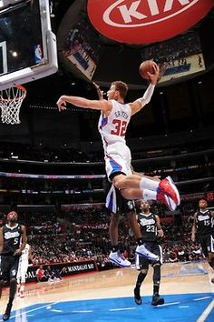 Blake Griffin Los Angeles Clippers Basketball Limited Print Photo Poster 22x28 #2