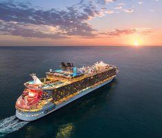 Ship: Allure of the Seas⠀  _______________⠀  ⠀  ⠀  #cruise #cruising #sail #sailing #luxury #holiday #travel #cruiseship #ships #sea #cruiselife #beyondcruise #oasisclass #allureofthesess #royalcarribeancruises #royalcaribbean #royalcaribbeaninternational