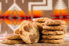 Sunshiny Native American Corn Cookies taste of lemon zest, toasted sugar and spicy cinnamon. So easy and fast. Get the recipe.