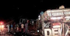 Acidente com micro-ônibus de Bonito deixa três mortos na BA-052.   Lucas Souza Publicidade