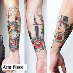 conor mcgregor arm temporary tattoos