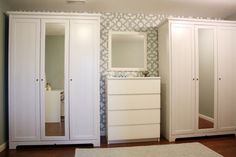His and Hers Armoire Ikea Wardrobes http://www.ikea.com/us/en/catalog/products/80157214/