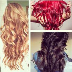 Curly hair  #long#redhair#blackhair
