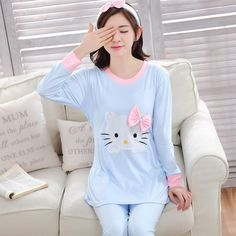 http://babyclothes.fashiongarments.biz/  Autumn /winter bowknot KT cat Girl knitted cotton pajamas set ladies long sleeved pyjamas women homewear clothing 2 color M-XXL, http://babyclothes.fashiongarments.biz/products/autumn-winter-bowknot-kt-cat-girl-knitted-cotton-pajamas-set-ladies-long-sleeved-pyjamas-women-homewear-clothing-2-color-m-xxl/, USD 13.82-16.65/pieceUSD 18.32/pieceUSD 16.65/pieceUSD 32.15/pieceUSD 29.82/setUSD 24.58/setUSD 18.32/setUSD 19.98-21.65/set   welcome to our store…