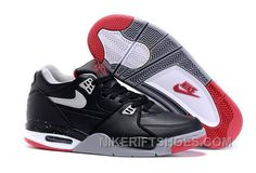"""http://www.nikeriftshoes.com/nike-air-flight-89-bred-black-cement-greyred-for-top-sale-kp7n5.html NIKE AIR FLIGHT '89 """"BRED"""" BLACK/CEMENT GREY-RED FOR TOP SALE KP7N5 Only $94.00 , Free Shipping!"""