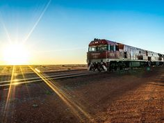 THE GHAN EXPEDITION THROUGH AUSTRALIA -- Beginning in Darwin, this epic tour will take you to some of the most remote yet captivating parts of Australia. You won't be bored on this trip as the panoramas are changing with every mile. Best Places To Travel, Places To Visit, Southern Rail, Train Journey, Exotic Places, South Australia, Train Travel, Darwin, Tours