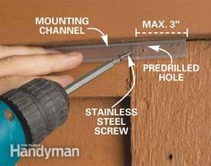 How to install deck lighting pinterest deck lighting rope how to install deck lighting aloadofball Choice Image