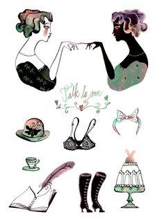 Illustrations by Eili-Kaija Kuusniemi — AGENT PEKKA