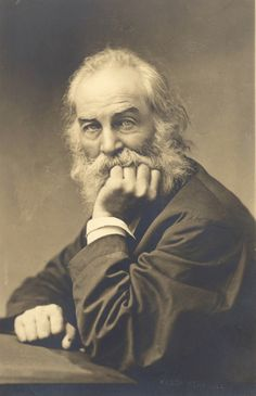 Walt Whitman, Brooklyn, New York — G. Frank Pearsall   (c.1870)