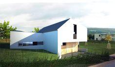 rodinny dom Svinia, Slovakia by Archholiks Contemporary, Studio, Outdoor Decor, Home Decor, Decoration Home, Room Decor, Studios, Home Interior Design, Home Decoration