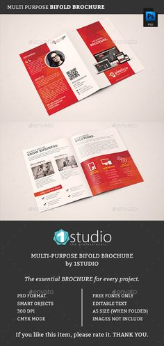 Bifold Brochure Template PSD #design Download: http://graphicriver.net/item/bifold-brochure-05/13290348?ref=ksioks