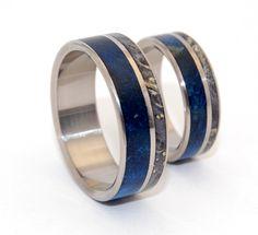Swoon Set   Titanium Rings   Minter + Richter