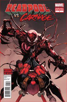 Deadpoll vs. Carnage #1 Variant