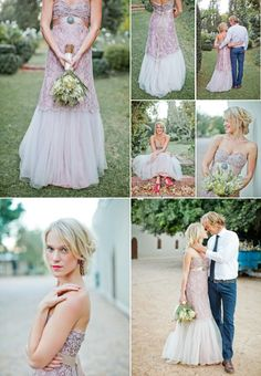 For the untraditional bride
