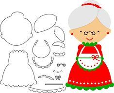 Idees i models per fer les nostres titelles Quiet Book Patterns, Felt Patterns, Patch Quilt, Felt Christmas Ornaments, Christmas Crafts, Peluche Star Wars, Finger Puppet Patterns, Sewing Toys, Felt Toys