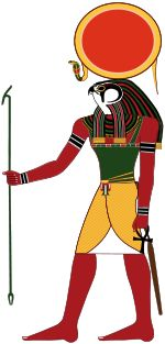 Ra : is the ancient Egyptian sun god. By the Fifth Dynasty he had become a major deity in ancient Egyptian religion, identified primarily with the midday sun. The meaning of the name is uncertain, but it is thought that if not a word for 'sun' it may be a variant of or linked to words meaning 'creative power' and 'creator'.