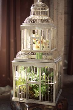 Kaella Lynn Events translates interior design into wedding details with our birdcage and more.